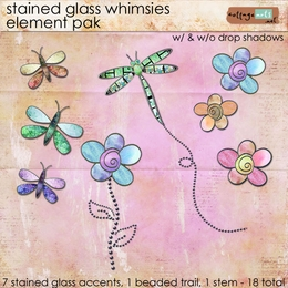 Stained Glass Whimsies