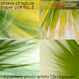 Strokes of Nature 3 Paper Pak