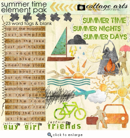 Summer Time Element Pak