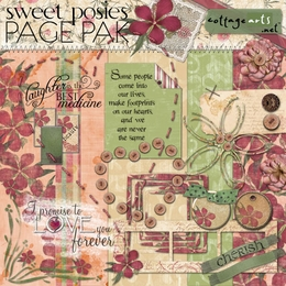 Sweet Posies Page Pak w/ Quick Page