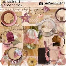 Tea Stained Element Pak