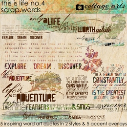 This is Life 4 Scrap.Words