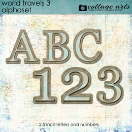 World Travels 3 AlphaSet