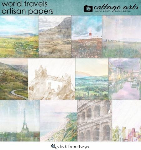 World Travels Artisan Papers