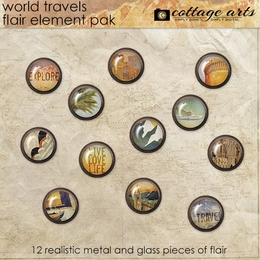 World Travels Flair Element Pak