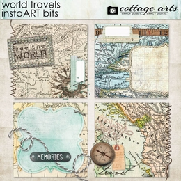 World Travels InstaART Bits