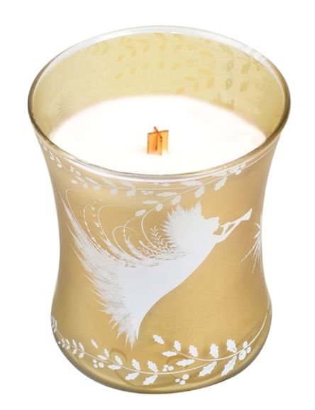 Woodwick Christmas Cake Candles