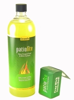 Citronella PatioLite Fire Pot Fuel & Safety Wick System by Marshall Group