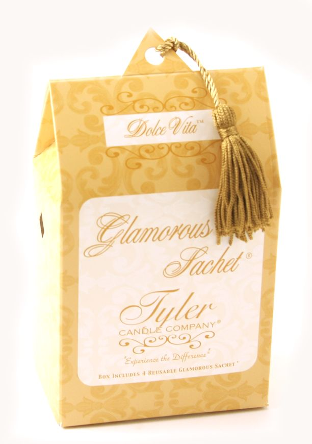 Dolce Vita Tyler Glamourous Sachets Dryer Sheets