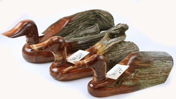 Rocky Mountain Rustic Ducks & Fish from Cedar Fence Posts