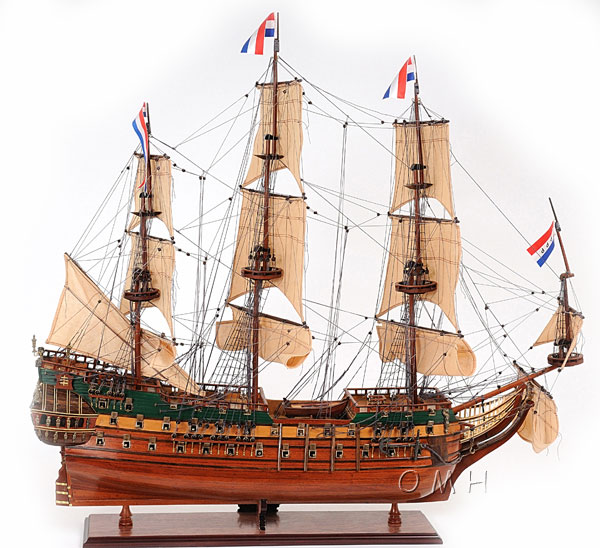Friesland Holland Frigate Model 1663 37in