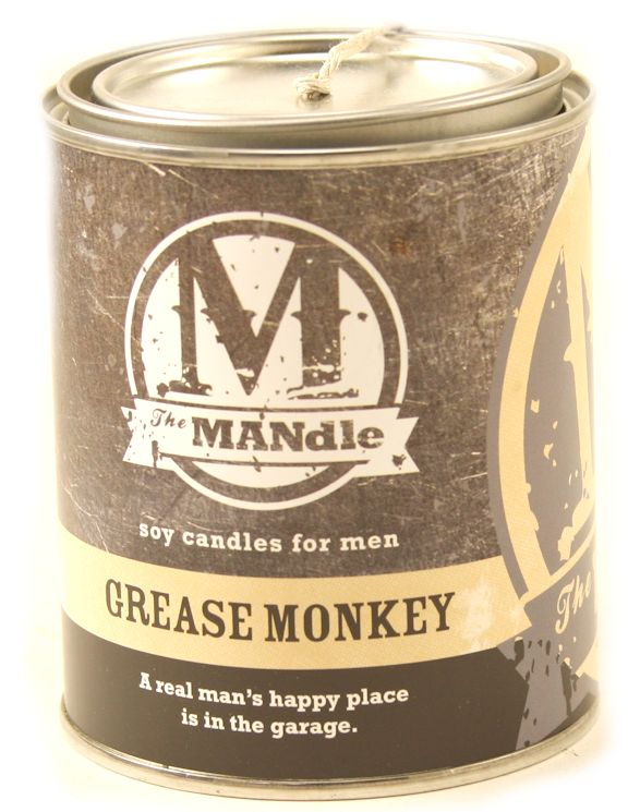 Grease Monkey The Mandle Scented Candle By Eco Candles