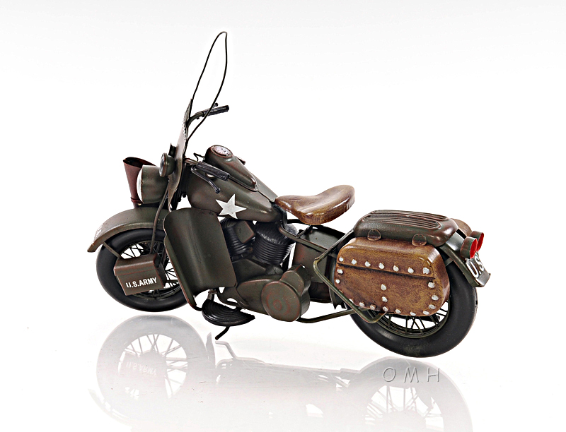 HARLEY-DAVIDSON MOTORCYCLE 1942 WLA Model by Old Modern