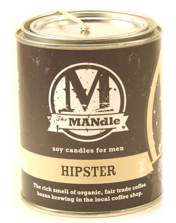 HIPSTER - The MANdle Scented Candle by Eco Candles