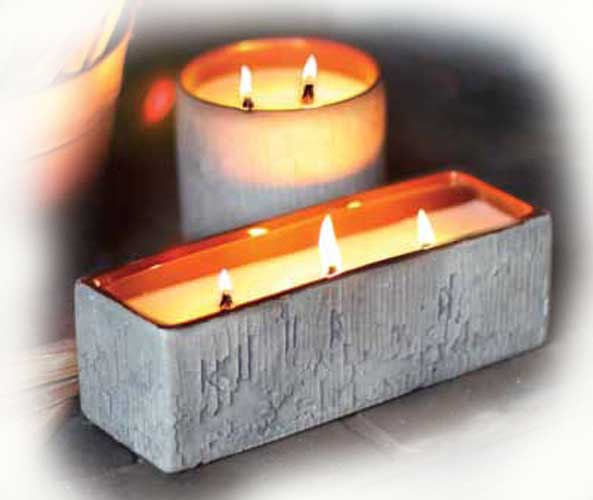 Large Round Warm Hearth Multi Wick Woodwick Scented Candle