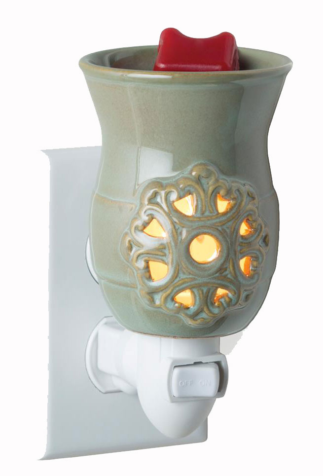 Medallion Pluggable Fragrance Warmer By Candle Warmers