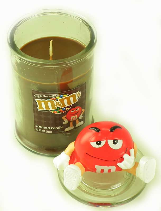 Best Chocolate Scented Flowers: MILK CHOCOLATE M&M Scented Jar Candle