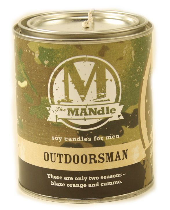 OUTDOORSMAN - The MANdle Scented Candle by Eco Candles