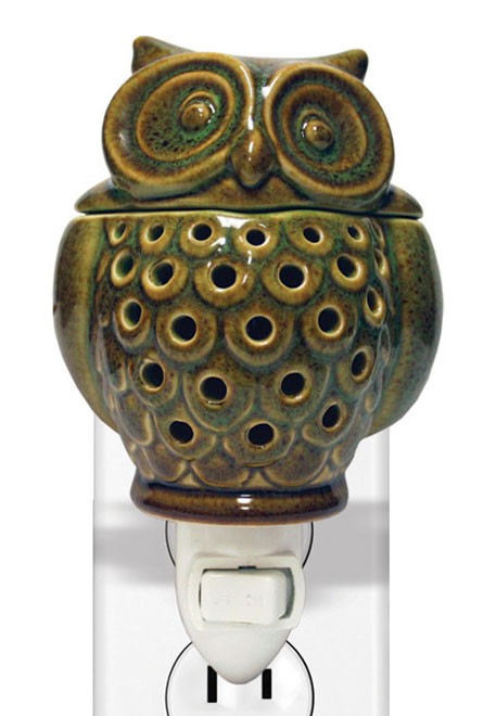 Owl Pluggable Wax Melter Or Warmer By A Cheerful Giver