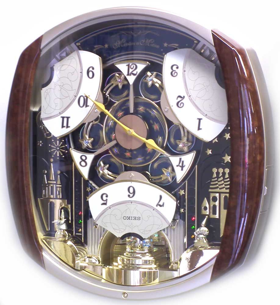 Qxm496brh seiko melodies in motion musical clock amipublicfo Images