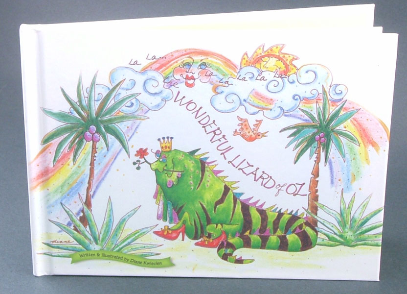 The Wonderful Lizard Of Oz Story Book