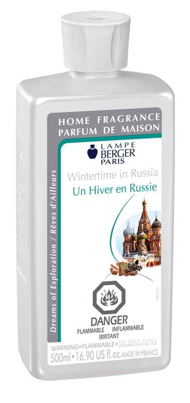wintertime in russia lampe berger fragrance 500 ml parfum. Black Bedroom Furniture Sets. Home Design Ideas