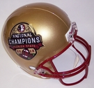 2013 BCS National Champs FSU Florida State Seminoles Riddell NCAA Full Size Deluxe Replica Football Helmet