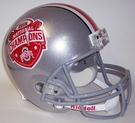 2014 National Champs Ohio State Buckeyes Riddell NCAA Full Size Deluxe Replica Football Helmet