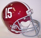Alabama Crimson Tide Riddell NCAA Full Size Deluxe Replica Football Helmet