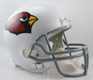 Arizona Cardinals Riddell NFL Full Size Deluxe Replica Football Helmet