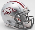 Arkansas Razorbacks 2017 Tribute Speed Riddell Mini Football Helmet