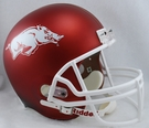 Arkansas Razorbacks Riddell NCAA Full Size Deluxe Replica Football Helmet