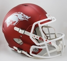Arkansas Razorbacks Riddell NCAA Full Size Deluxe Replica Speed Football Helmet