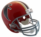 Atlanta Falcons 1966-1969 Throwback Riddell NFL Full Size Deluxe Replica Football Helmet