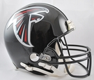 Atlanta Falcons Autographed Full Size On Field Authentic Proline Helmets