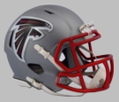 Atlanta Falcons - Blaze Alternate Speed Riddell Mini Football Helmet