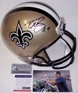Autographed - Full Size Riddell Deluxe Replica Football Helmets - NFL