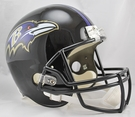Baltimore Ravens Riddell NFL Full Size Deluxe Replica Football Helmet