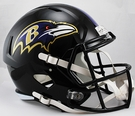 Baltimore Ravens Riddell NFL Full Size Deluxe Replica Speed Football Helmet