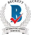 BAS Beckett Authentication Services - Certificate of Authenticity