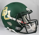 Baylor Bears Riddell NCAA Full Size Deluxe Replica Speed Football Helmet