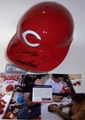 Big Red Machine - Autographed Full Size Authentic Batting Helmet - Cincinnati Reds - PSA/DNA