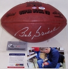 Bob Griese - Autographed Official Wilson Super Bowl VII NFL Football - PSA/DNA