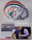 Bob Griese - Riddell - Autographed Mini Helmet - Miami Dolphins Throwback - PSA/DNA