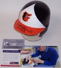 Brooks Robinson - Riddell - Autographed Batting Mini Helmet - Baltimore Orioles - PSA/DNA
