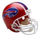 Buffalo Bills 1987-2001 Throwback Riddell NFL Full Size Deluxe Replica Football Helmet