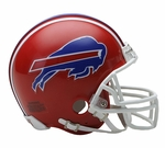 Buffalo Bills 1987-2001 Throwback VSR4 Riddell Mini Football Helmet