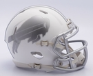 Buffalo Bills - ICE alternate Speed Riddell Mini Football Helmet