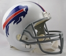 Buffalo Bills Riddell NFL Full Size Deluxe Replica Football Helmet