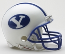 BYU Cougars 1984 Throwback Riddell Mini Football Helmet